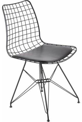Moon Tel Sandalye - Tabure - Mutfak Yemek Sandalye