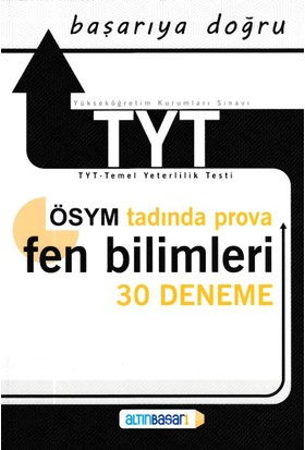 Altınbaşarı Yks Tyt Fen Bilimleri 30 Deneme