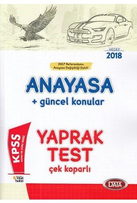 Data 2018 Kpss Anayasa Yaprak Test