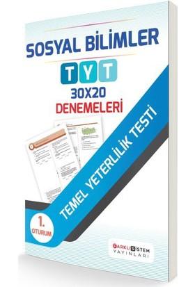 Farklı Sistem Yayınları TYT 1. Oturum Sosyal Bilimler 30X20 Denemeleri
