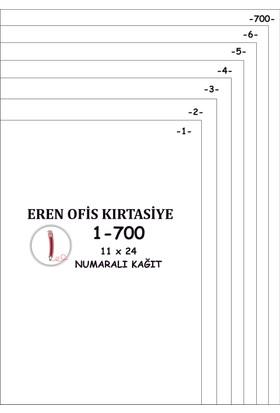 Eren A4 Numaralı Kağıt 1-700/ 80 Gr