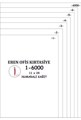 Eren A4 Numaralı Kağıt 1-6000 / 80 Gr