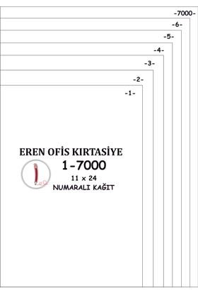Eren A4 Numaralı Kağıt 1-7000 / 80 Gr