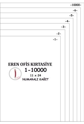 Eren A4 Numaralı Kağıt 1-10000 / 80 Gr