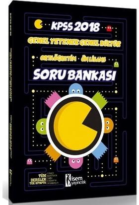 İsem 2018 Kpss Gy Gk Ortaöğretim Önlisans Tamamı Çözümlü Soru Bankası Tek Kitap