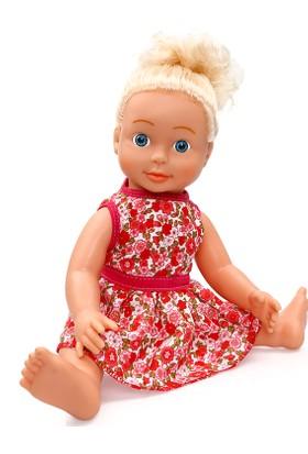 Şimşek Konuşan Et Bebek Kırmızı 40 cm