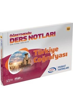Murat Kpss Türkiye Coğrafyası Öğretmenin Ders Notları