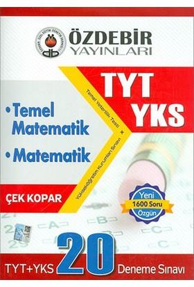 Özdebir Yks Tyt Temel Matematik Ve Matematik 20 Deneme Sınavı