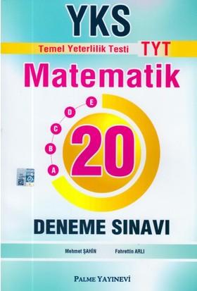 Palme Yks Tyt Matematik 20 Deneme Sınavı