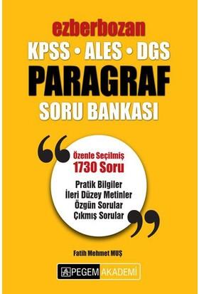 Pegem 2018 Kpss Ales Dgs Ezberbozan Paragraf Soru Bankası