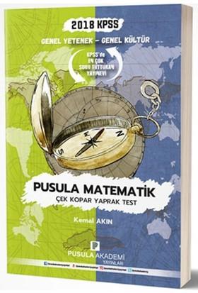 Pusula Akademi 2018 Kpss Gy Gk Pusula Matematik Çek Kopar Yaprak Test