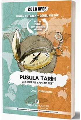 Pusula Akademi 2018 Kpss Gy Gk Pusula Tarih Çek Kopar Yaprak Test