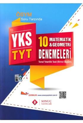 Sonuç Yks Tyt Matematik Geometri 10 Deneme