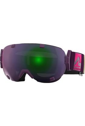 Marker Projector+ Plasma Mirror Kayak Gözlüğü Mor/Yeşil