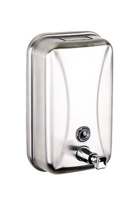 Paslanmaz Duvara Montaj Sıvı Sabunluk 500 Ml. Mat