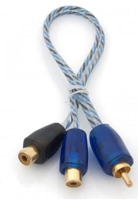 Pilippo Pı-2Mf Y Kablo 1 Erkek 2 Dişi Rca Kablo