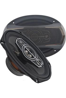 Roadstar Rdh-694S Oval 500 Watt 6X9 Oto Hoparlör 5 Yollu