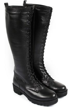 Gön Deri Kadın Çizme 63590