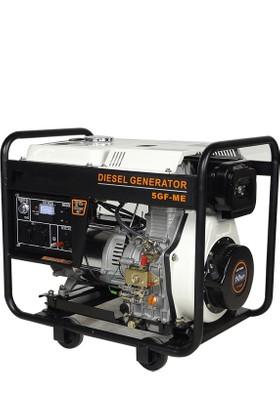 Greenmax 5 GF-ME Dizel Jeneratör 5kW Bakır Sargılı