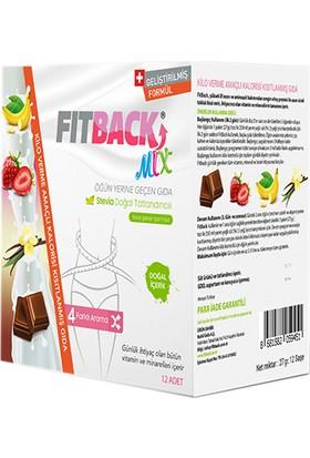 Fitback Kalorisi Kısıtlanmış Gıda - Mix (4 Aroma x 3er Saşe) (3 Günlük)