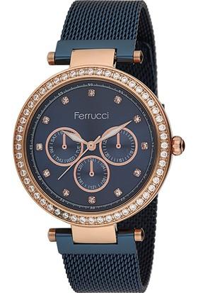 Ferrucci FC11684H.05 Hasır Kordonlu Kadın Kol Saati