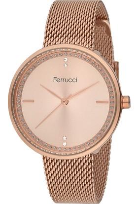Ferrucci FC12114H.01 Hasır Kordonlu Kadın Kol Saati