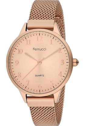 Ferrucci FC12189H.03 Hasır Kordonlu Kadın Kol Saati