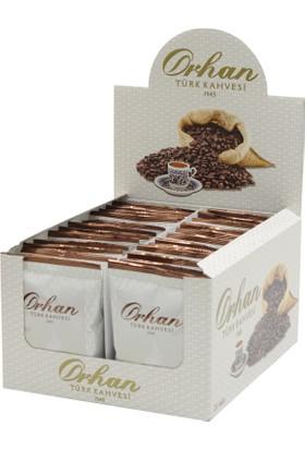 Orhan Türk Kahvesi Günlük Taze Çekilmiş 100Gr Aluminyum Poşet - 24Lü Paket
