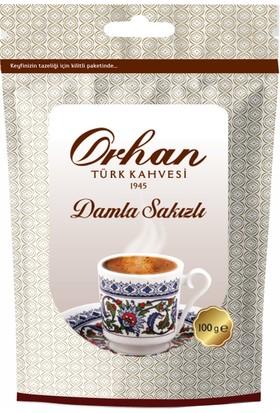 Orhan Damla Sakızlı Türk Kahvesi 100Gr Aluminyum Poşet