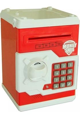 Bircan Elektronik Şifreli Kasa Kumbara - Kırmızı