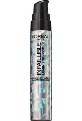 L'Oréal Paris Infaillible Luminizing Primer - Aydınlatıcı Makyaj Bazı