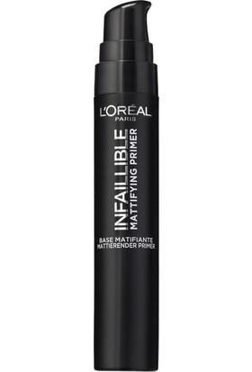 L'Oréal Paris Infaillible Mattifying Primer - Matlaştırıcı Makyaj Bazı
