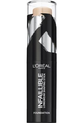 L'Oréal Paris Infaillible Shaping Stick Fondöten 160 Sand