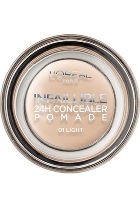 L'Oréal Paris Infaillible 24H Concealer Pomade Kapatıcı 01 Light