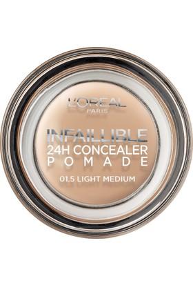 L'Oréal Paris Infaillible 24H Concealer Pomade Kapatıcı 01.5 Light Medium