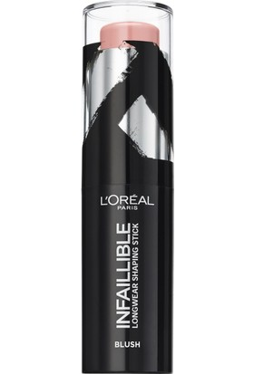 L'Oréal Paris Infaillible Shaping Stick Allık 001 Sexy Flush
