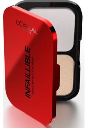 L'Oréal Paris Infaillible 24H Ultra Matte Prestige Pudra-160 Sand Beige