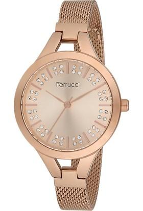 Ferrucci FC12110H.03 Hasır Kordonlu Kadın Kol Saati