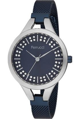 Ferrucci FC12110H.05 Hasır Kordonlu Kadın Kol Saati