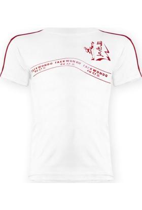 Saydo Taekwondo Beyaz Tişört