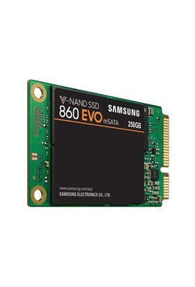 "Samsung 860 Evo 250GB 550MB-520MB/s M.Sata 2.5"" SSD (MZ-M6E250BW)"