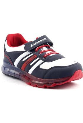 Lafonten 333 Lacivert Cırtlı Filet Günlük Erkek Çocuk Spor Ayakkabı