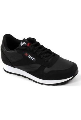 Scot 107 Siyah Günlük Yürüyüş Koşu Erkek Çocuk Spor Ayakkabı