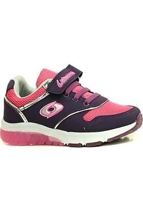 Lafonten 542 Işıklı Cırtlı Günlük Yürüyüş Kız Çocuk Spor Ayakkabı
