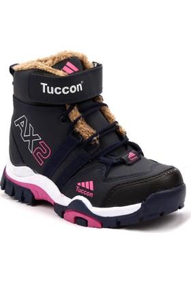 Tuccon 1083 İçi Kürklü Kışlık Kız Çoçuk Bot