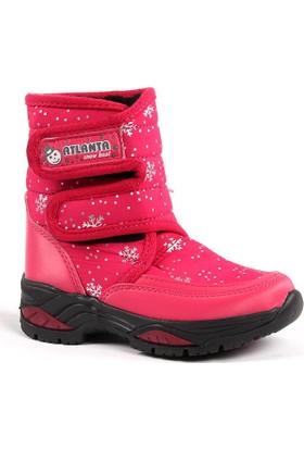 Atlanta Günlük İçi Kürklü Kız Çocuk Kar Botu Ayakkabı