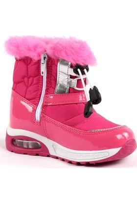 Scooby 5066 Günlük İçi Kürklü Kız Çocuk Kar Botu Ayakkabı