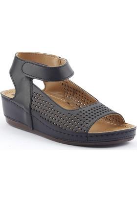 Ccway 1181 Cırtlı Günlük Bayan Sandalet Ayakkabı