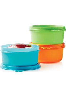 Tupperware Şeker Üçüzler ( Saklama Kabı ) Hasgül