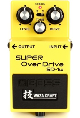 Boss Sd-1W Waza Craft Super Overdrive -
